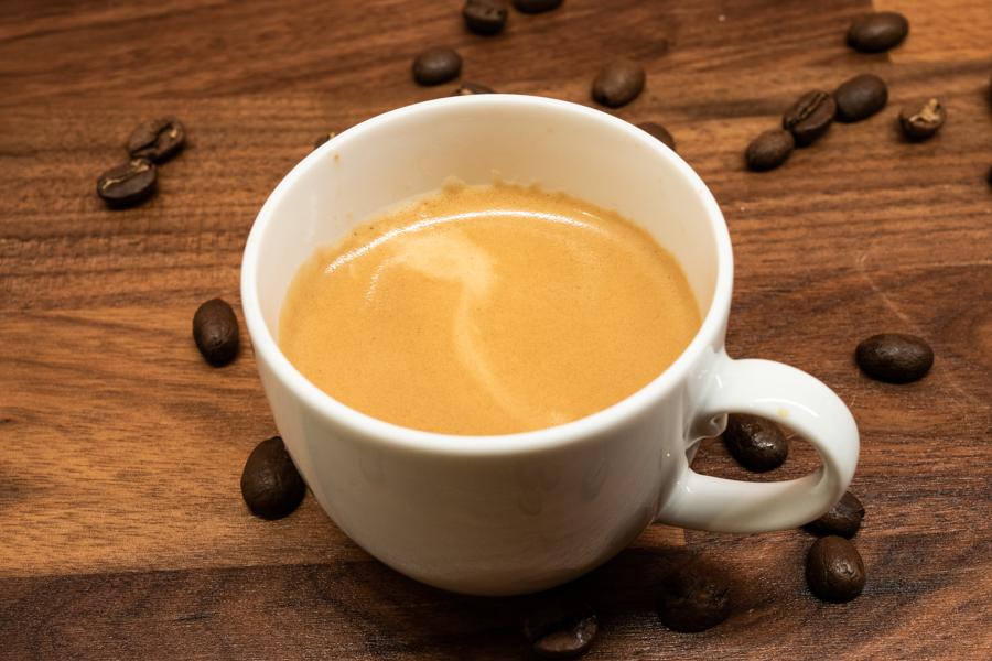 Zubereiteter Espresso Graef CM800