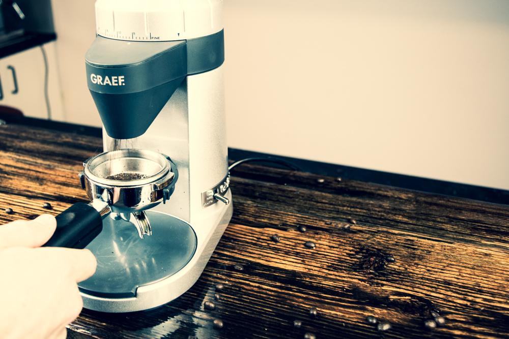 Direktmahlfunktion Espresso Graef CM800