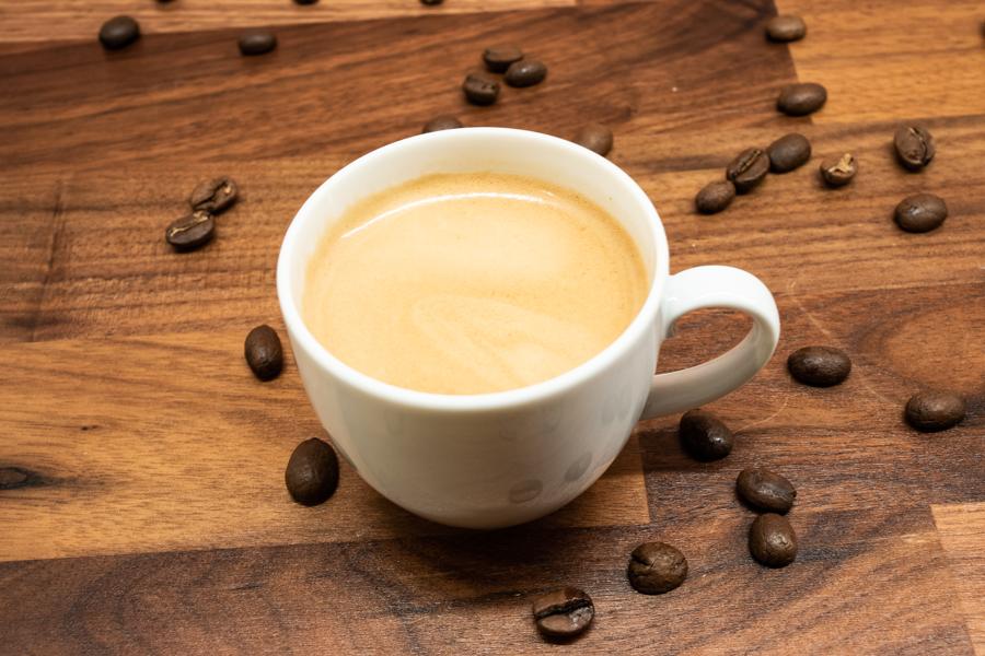 Espresso mit Baratza Encore zubrereitet