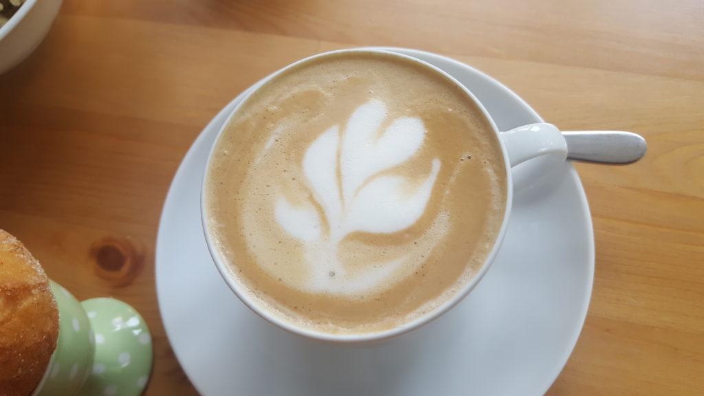Cappuccino fertig