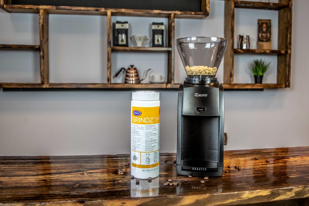 Kaffeemühle gründlich reinigen