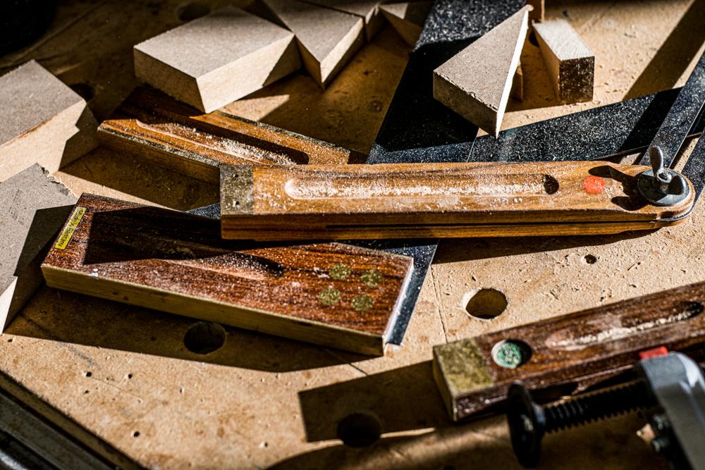 Winkel und Restabfallholz Kappsäge Test